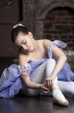 Young ballerina Stock Image