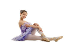 Young ballerina Stock Images