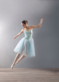 Young ballerina in ballet pose classical dance Royalty Free Stock Photography