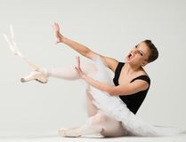 Young ballerina dancer Royalty Free Stock Photos