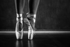 Young ballerina dancing Royalty Free Stock Photo