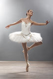 Young Ballerina In Ballet Pose Classical Dance Royalty Free Stock Image