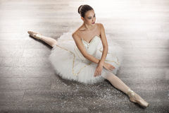 Young Ballerina In Ballet Pose Classical Dance Stock Photo