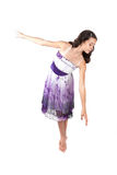 Young ballerina indress Royalty Free Stock Photography