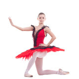 Young ballerina posing Stock Photos