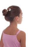 Young ballerina's back Royalty Free Stock Photo