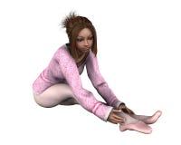 Young Ballet Dancer - 1 Royalty Free Stock Photos