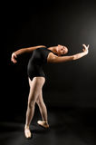Young ballet dancer Stock Photography