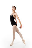 Young ballet dancer in elegant pose Stock Photo