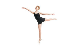 Free Young Ballet Dancer In Mid Air Royalty Free Stock Photos - 72208438
