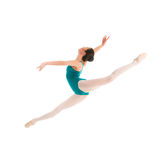 Young ballet dancer jumping Royalty Free Stock Image