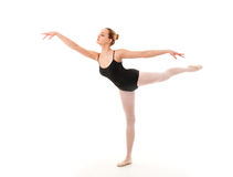 Young ballet dancer posing Stock Images