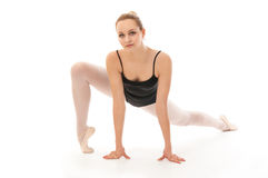 Young ballet dancer posing Stock Photos