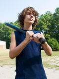 Young ballplayer Stock Photography