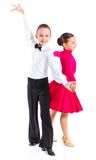 Young ballroom dancers Stock Image