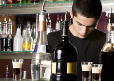 Free Young Barman Royalty Free Stock Photography - 11478277