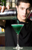 Young barman Royalty Free Stock Photo