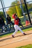 Boy baseball batter Stock Photography