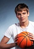 Young basketball player Stock Photography