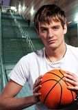 Young basketball player Royalty Free Stock Images
