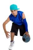 Young basketball player Stock Image