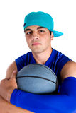 Young basketball player Royalty Free Stock Photography