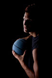Young basketball player Stock Images