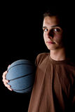 Young basketball player Royalty Free Stock Image