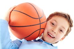 Young basketball player Stock Image
