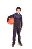 Young basketball player Stock Photos