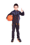 Young basketball player Royalty Free Stock Photos