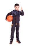 Young basketball player Stock Photos