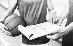 Young basketball player shoot. Concept Stock Image