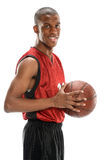 Young Basketball Player Smiling Royalty Free Stock Photography