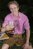 Young bavarian man Royalty Free Stock Photography