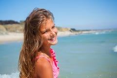 Young beach girl Royalty Free Stock Photos