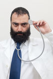 Young beard male doctor Stock Photography