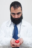 Young beard male doctor Royalty Free Stock Photos