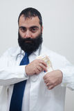 Young beard male doctor Stock Image