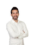 Young bearded businessman Stock Images
