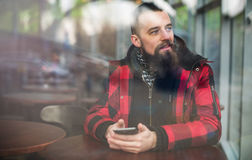 Young bearded man Stock Image