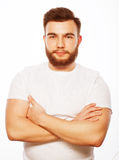 Young bearded man Stock Photography