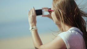 Young beatiful woman travel, sightseeing in. Travel, tourism, summer vacation, sightseeing and people concept - happy teenage girl in sunglasses with group of stock video footage