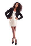 Young beautiful African American woman stock photos