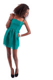 Young beautiful African American woman Royalty Free Stock Images