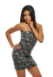 Young Beautiful African American Woman Stock Photography