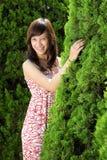 Young beautiful asian girl smiling Stock Image