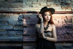 Young beautiful Asian model Royalty Free Stock Photos