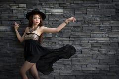Young beautiful Asian model Stock Photos
