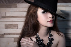 Young beautiful Asian model Stock Image
